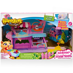 HAMSTERS IN A HAUSE PLAYSET SUPERMERCATO SPIN MASTER