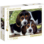 PUZZLE CLEMENTONI 30289 PEZZI 500 CANI CLOSE TOGETHER