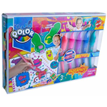 COLORI MAGIC CRAZY PAINT ROLLERS PAPERPAINT S48616 GIOCO BAMBINO CREATIVO