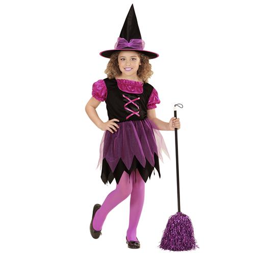Vestiti Halloween Strega.Streghetta Strega Costume Bambina