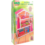 CASA IN LEGNO HOME SWEET HOME FASHION DOLLTIPO BARBIE GIOCATTOLO BAMBINA