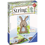 STRING ART CONIGLIO RAVENSBURGER 18068 GIOCO CREATIVO EDUCATIVO