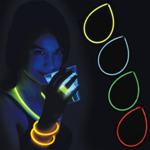100 BRACCIALI LUMINOSI DISCO