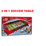 CALCETTO 2 IN 1 SOCCER TABLE
