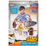 STAR WARS PAPER CRAFT DROIDS ON TATOOINE DESERT PACK GIOCHI PREZIOSI 12900