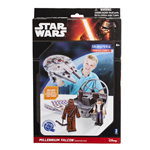 STAR WARS PAPER CRAFT MILLENNIUM FALCON ADVENTURE PACK GIOCHI PREZIOSI 12905