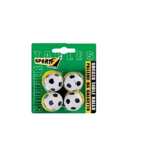 Sport-One palline da calcetto confezione da 4 pezzi