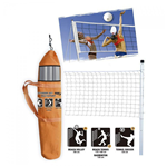 SET RETE MULTISPORT CON SACCA TENNIS VOLLEY BEACH FORMA